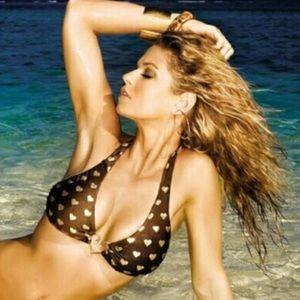 Beach Bunny Halter Bikini Top RARE!